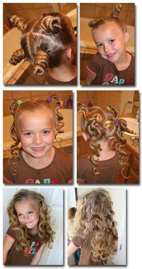 ideias de penteados para menina
