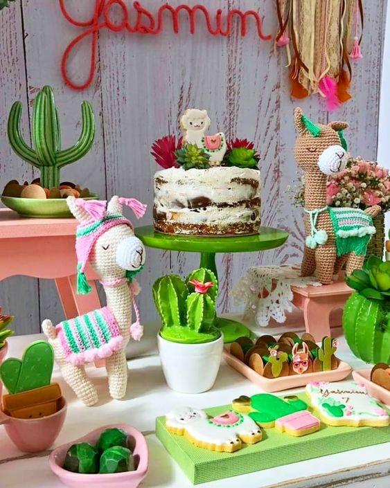 ideias decoração festa llama 2