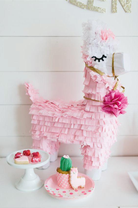 ideias decoração festa llama 3