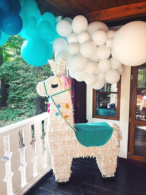 ideias decoração festa llama 7