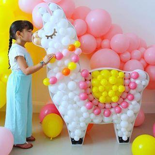 ideias decoração festa llama