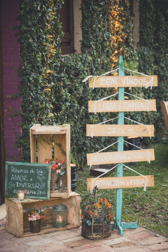 ideias decoracao casamento ecologico 7