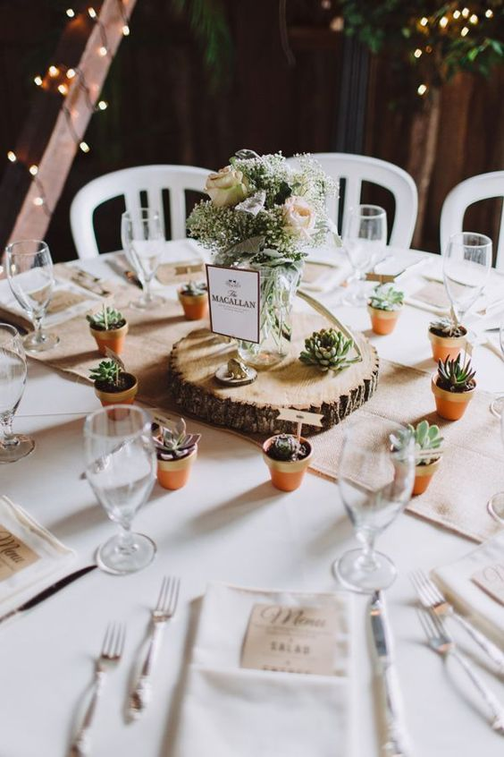 ideias decoracao casamento ecologico