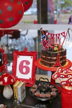 ideias decoracao festa ladybug 1