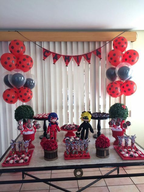 ideias decoracao festa ladybug 4