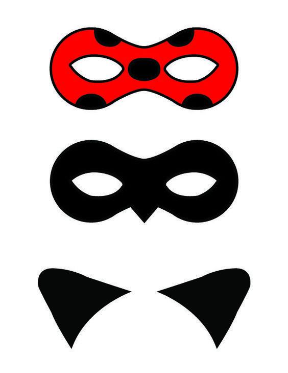 ideias decoracao festa ladybug mascaras imprimir