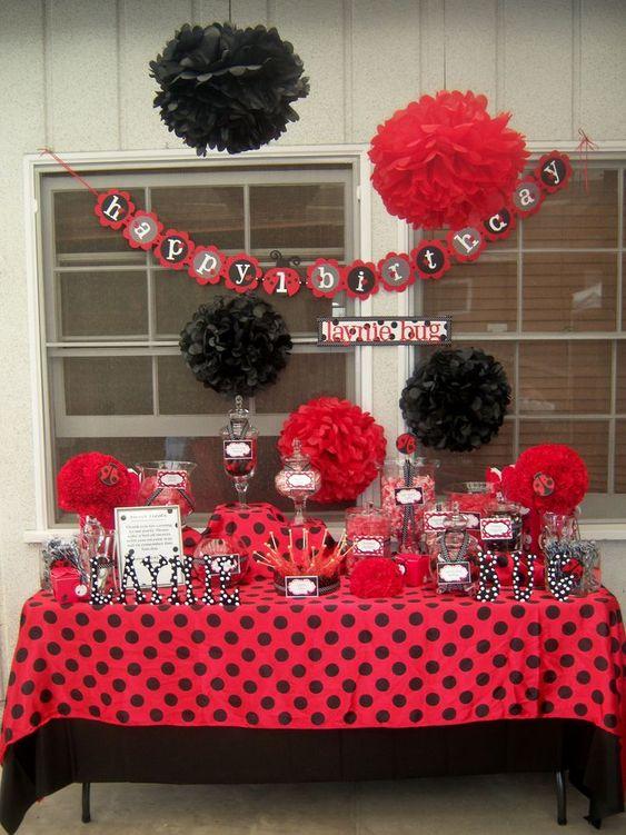 ideias decoracao festa ladybug