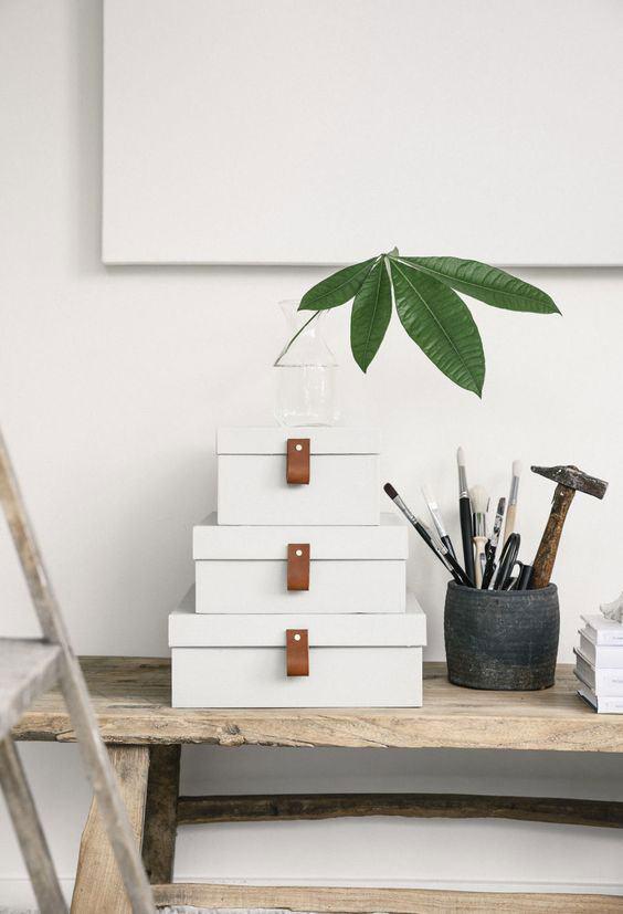 ideias decorar caixas papelao 10