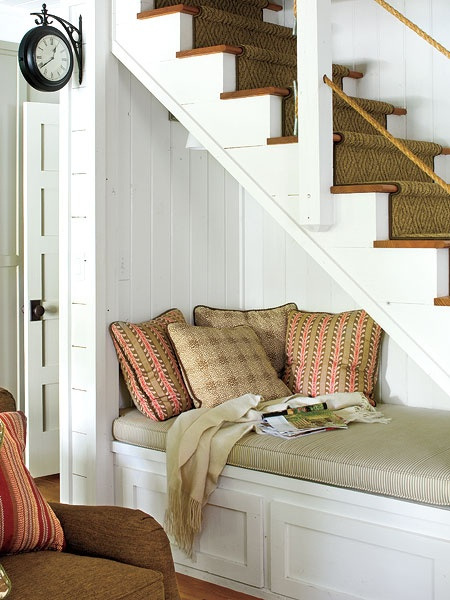 ideias decorar vao escadas