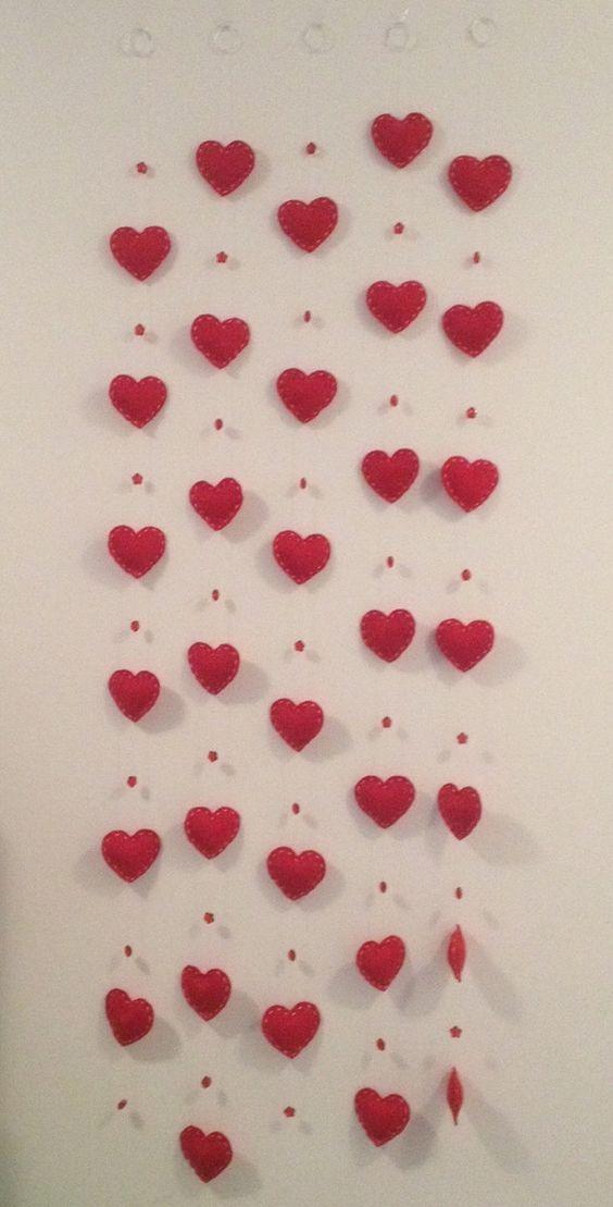 ideias dia namorados parede