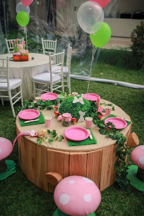 ideias diy festa jardim encantado
