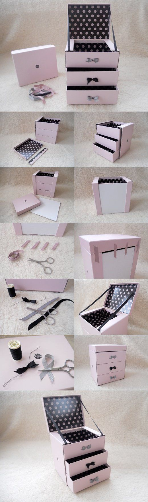 ideias diy reciclar caixas sapatos 3