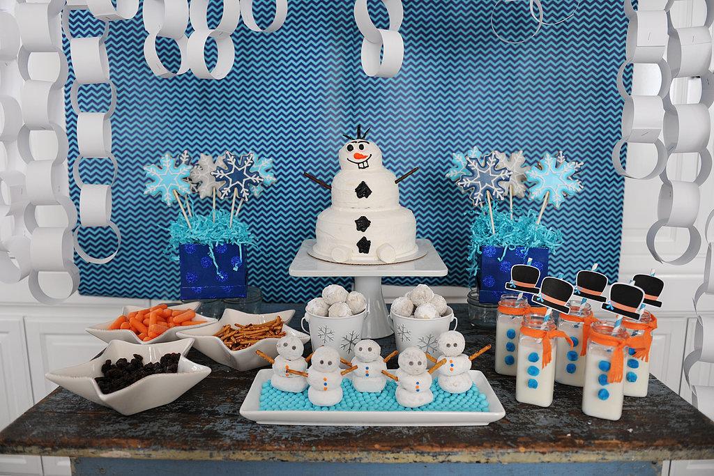 ideias festa frozen olaf