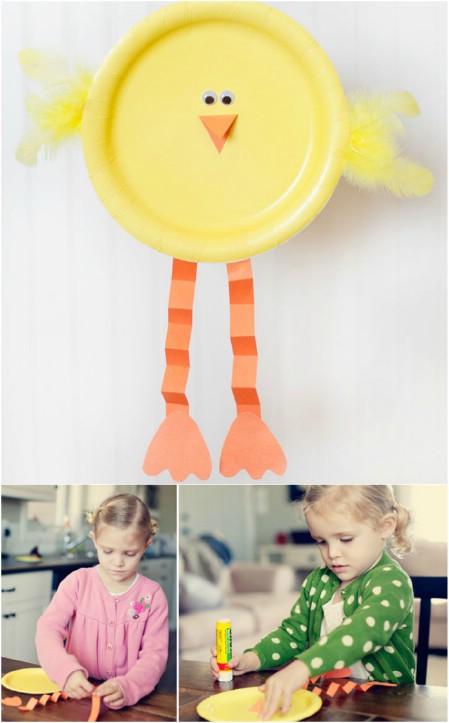 ideias giras pascoa crianças diy