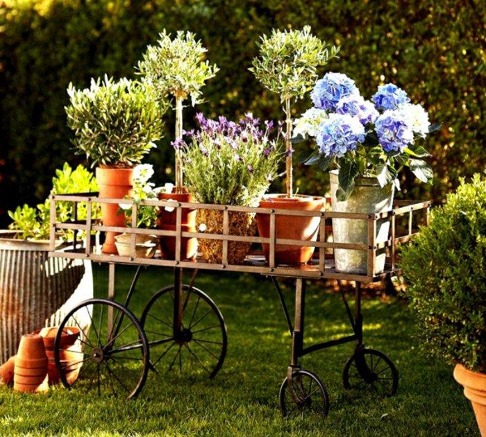 ideias originais para decorar o jardim