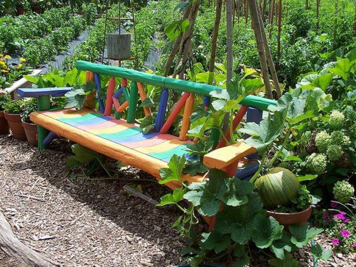 ideias originais para organizar o jardim