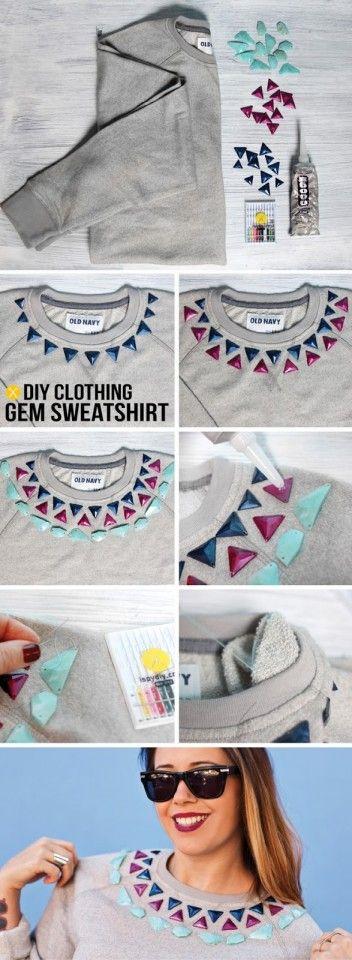 ideias para alterar camisolas