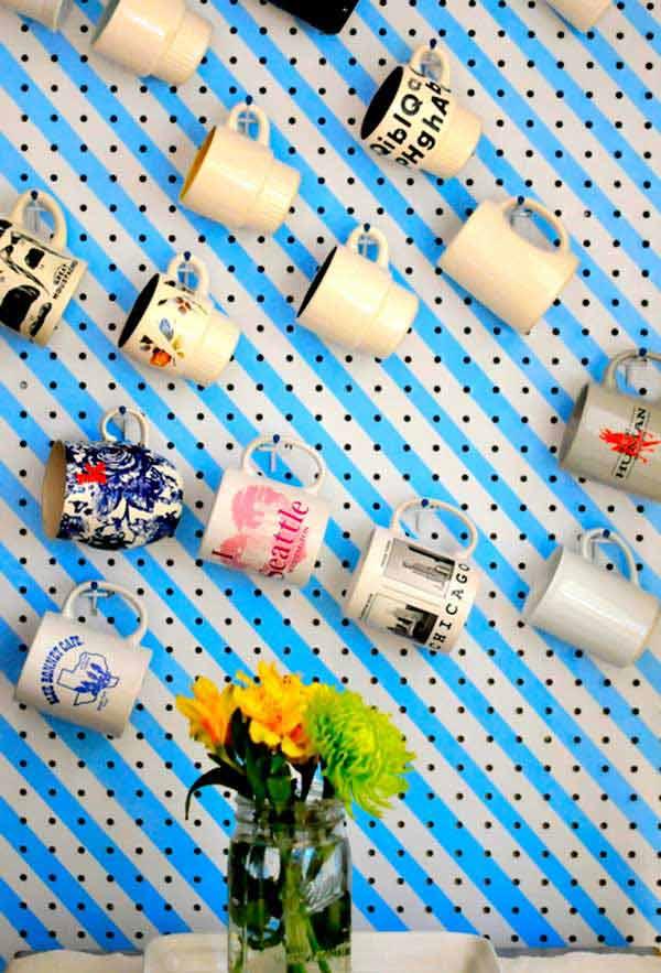 ideias para arrumar as canecas