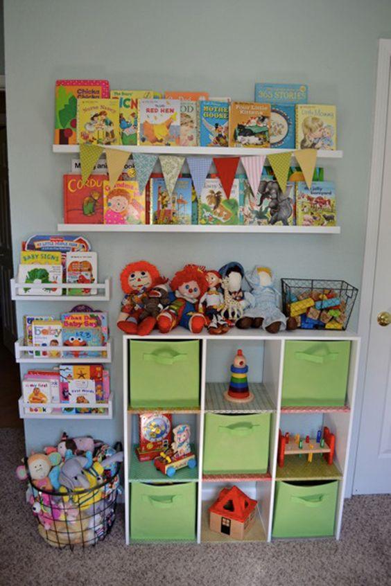 ideias para arrumar brinquedos