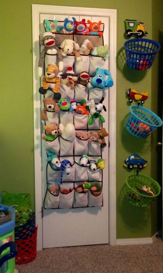 ideias para cestos plastico arrumacao brinquedos