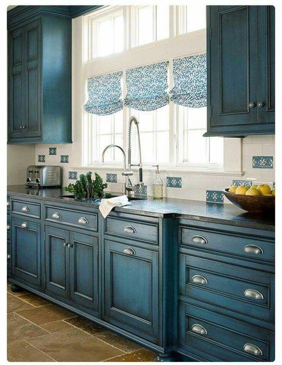 ideias para cortinas de cozinha