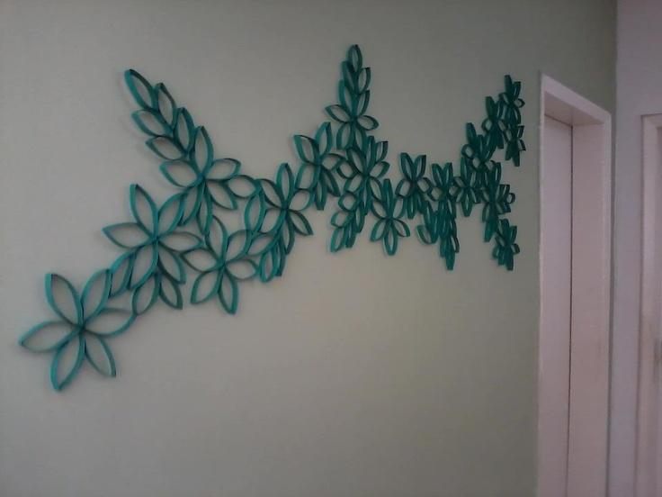 ideias para decorar com papel higiénico