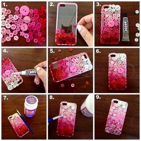 ideias para decorar o celular 6