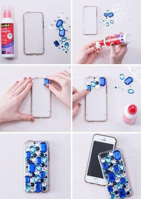 ideias para decorar o celular