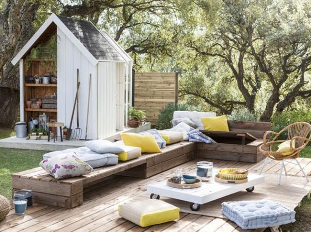 ideias para decorar o jardim