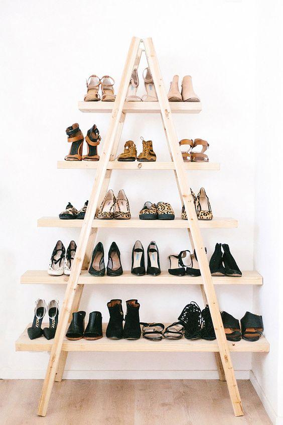 ideias para guardar sapatos 2
