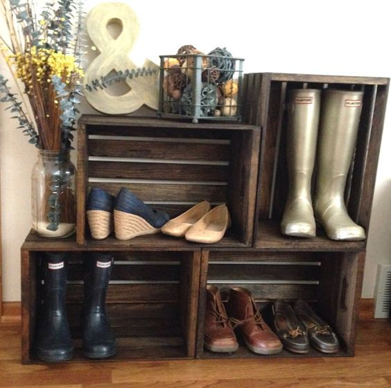 ideias para guardar sapatos 6