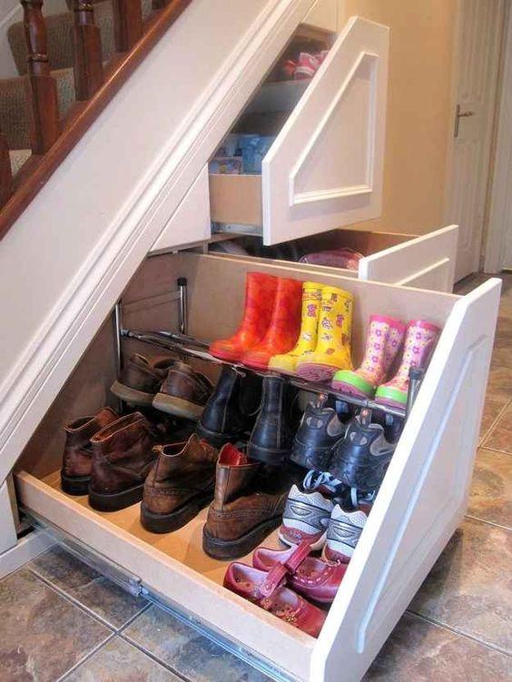 ideias para guardar sapatos 7