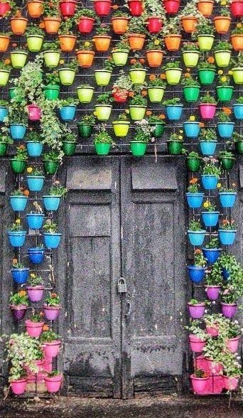 ideias baratas para jardim vertical : ideias baratas para jardim vertical:Ideias para Jardins Verticais