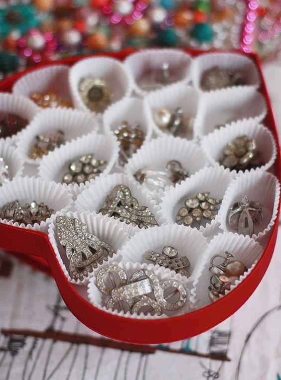 ideias para organizar a joias 1
