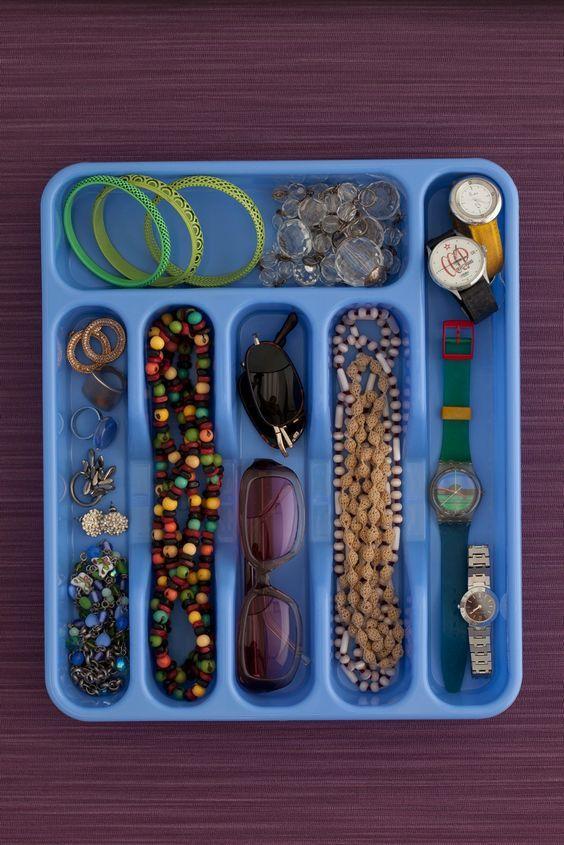 ideias para organizar a joias