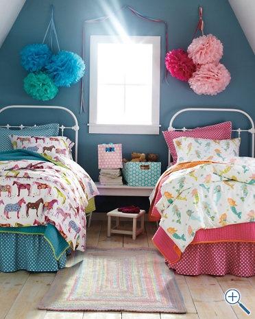 ideias para quartos partilhados