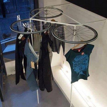 ideias para reciclar bicicletas