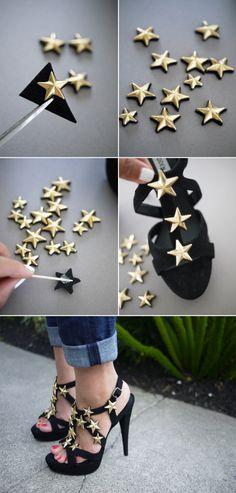 ideias para renovar sapatos