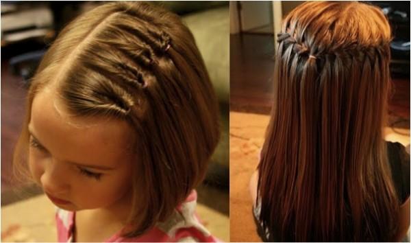 ideias penteados tranças menina