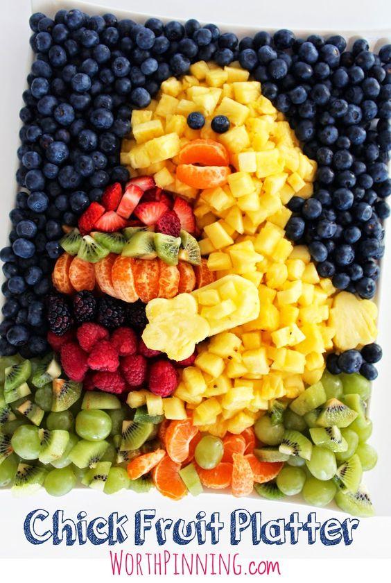 ideias servor fruta pascoa