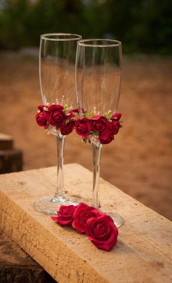 ideias taças para noivos