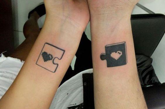 ideias tatuagem casal criativa
