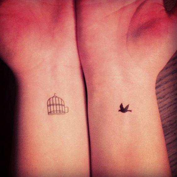 ideias tatuagem casal original