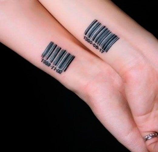 ideias tatuagem casal simples 2