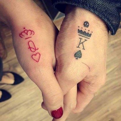 ideias tatuagem casal