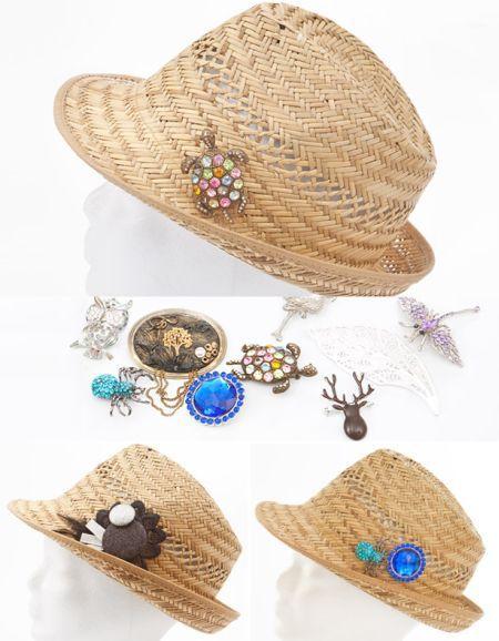 ideias.personalizar chapeu palha 10