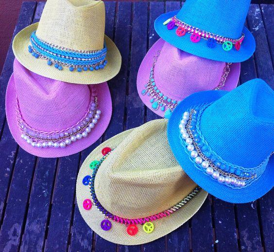 ideias.personalizar chapeu palha carnaval 3
