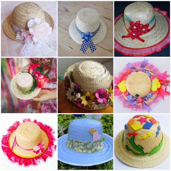 ideias.personalizar chapeu palha carnaval 4