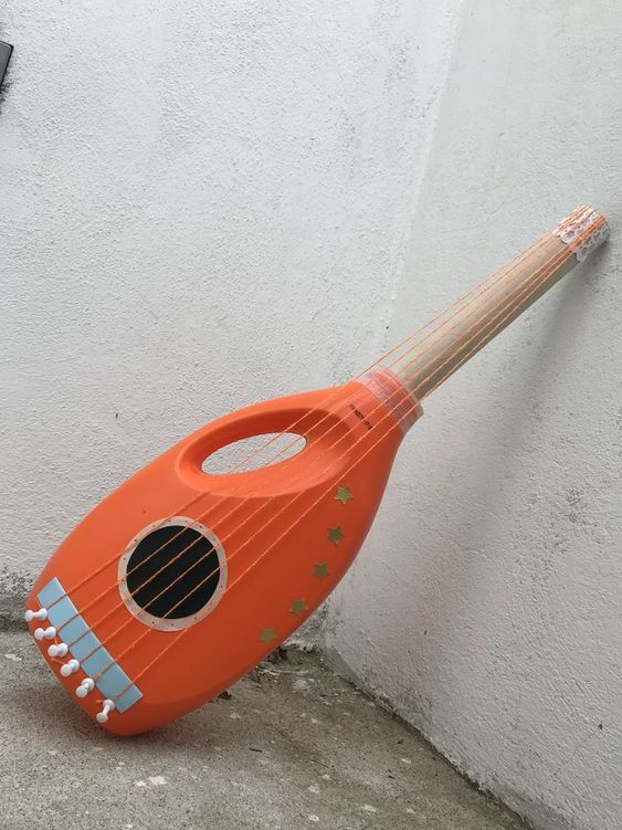 instrumento musical material reciclado 4