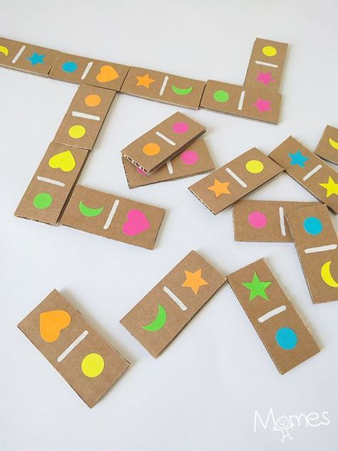jogos material reciclado domine